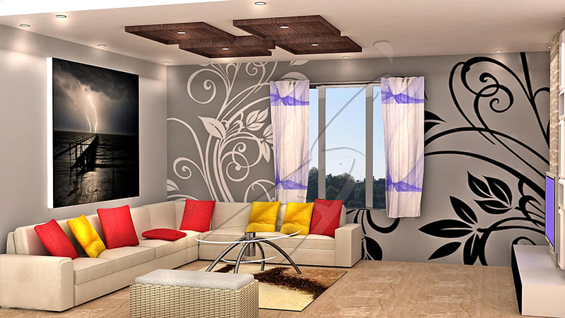 A peaceful living room! by Pegasus Interiors  Living-room | Interior Design Photos & Ideas