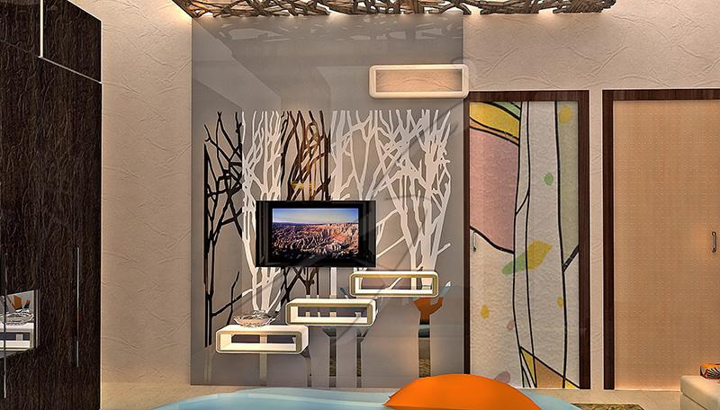 A modern and contemporary living room! by Pegasus Interiors  Living-room | Interior Design Photos & Ideas