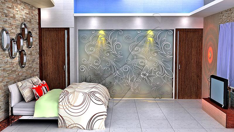 Modern bedroom! by Pegasus Interiors  Bedroom | Interior Design Photos & Ideas