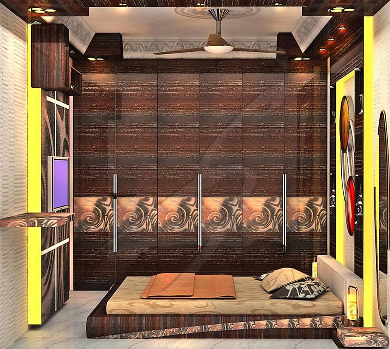 A wooden bedroom! by Pegasus Interiors  Bedroom | Interior Design Photos & Ideas