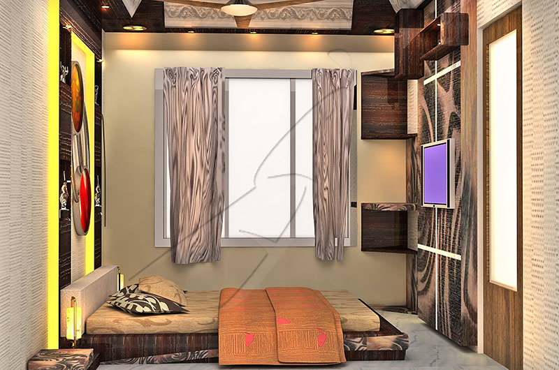 A splendid bedroom! by Pegasus Interiors  Bedroom | Interior Design Photos & Ideas