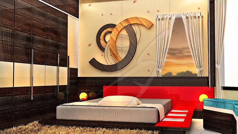 3D Bedroom! by Pegasus Interiors  Bedroom | Interior Design Photos & Ideas