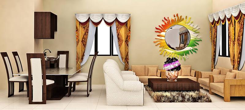 A compact living room! by Pegasus Interiors  Living-room | Interior Design Photos & Ideas