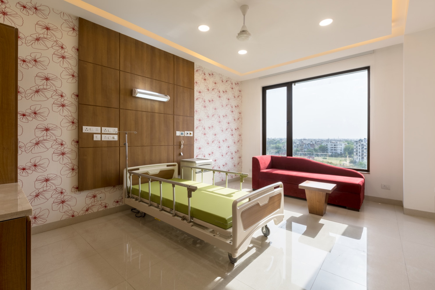 Hospital Wards With Modern Touch by Ravideep Singh Modern | Interior Design Photos & Ideas