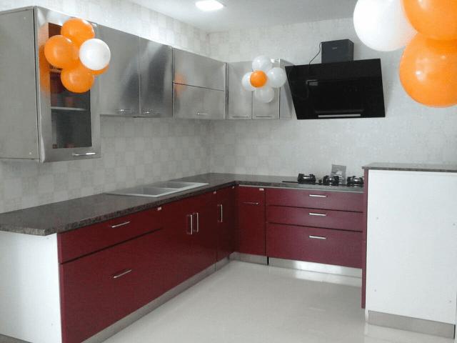 Modern kitchen designs by Tony Thomas Modular-kitchen Modern Contemporary | Interior Design Photos & Ideas