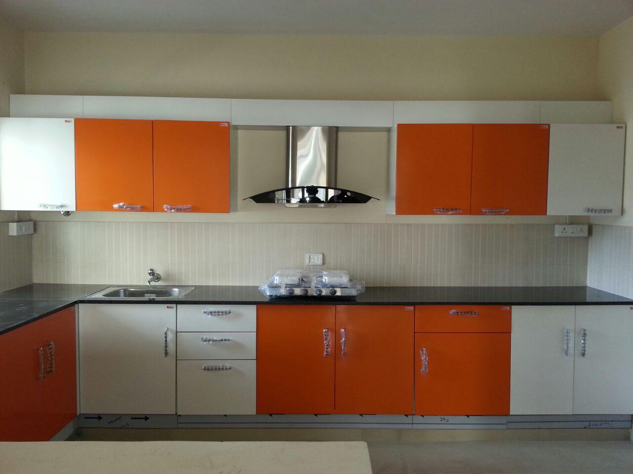 Parallel kitchen design by Tony Thomas Modular-kitchen Contemporary | Interior Design Photos & Ideas