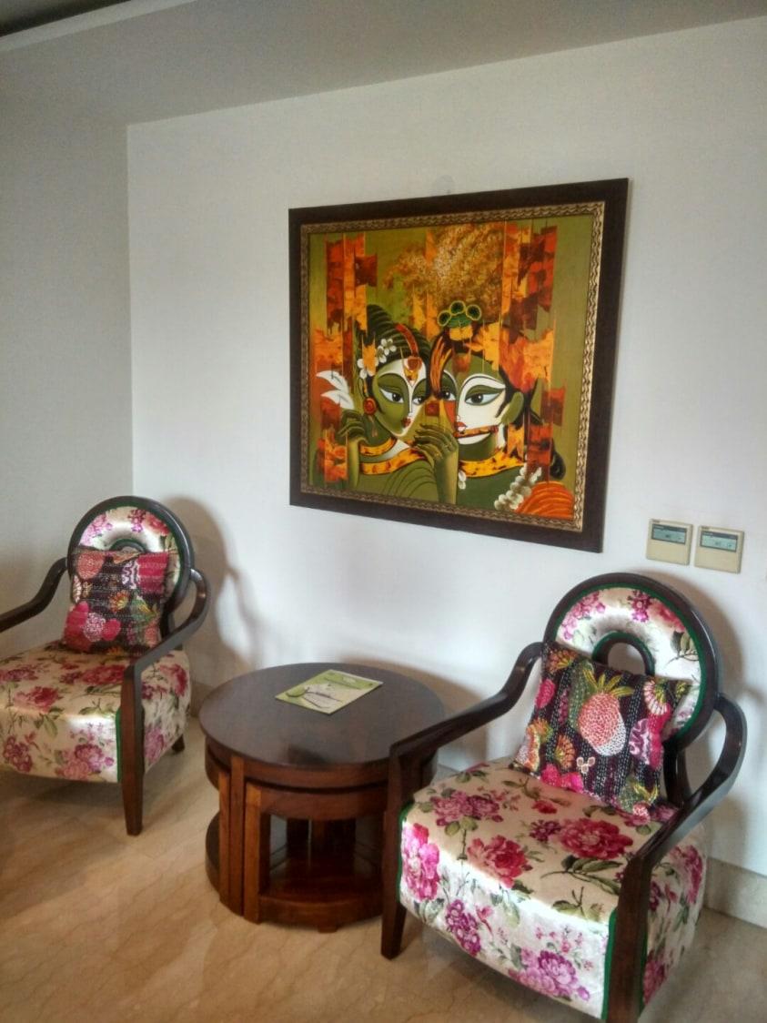 Living Room by Aayaadi Group Living-room Contemporary   Interior Design Photos & Ideas