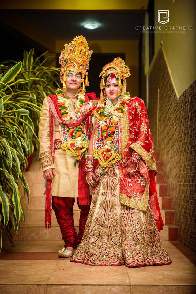 Bride and Groom Portrait Shot by Sujit Jena Wedding-photography | Weddings Photos & Ideas