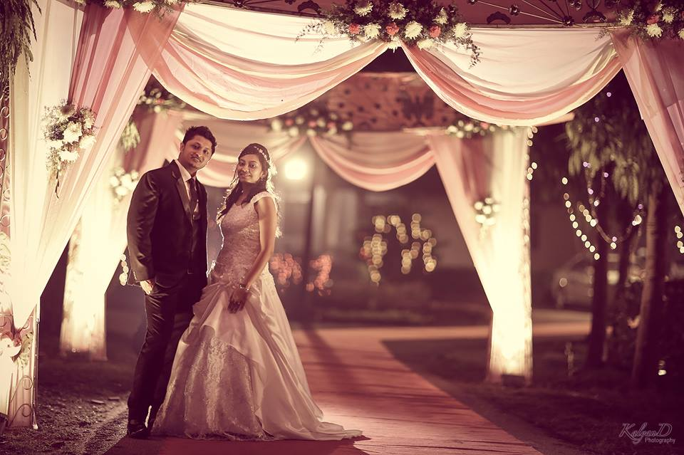 A poised bride and groom! by KalyanD Photography Wedding-photography | Weddings Photos & Ideas