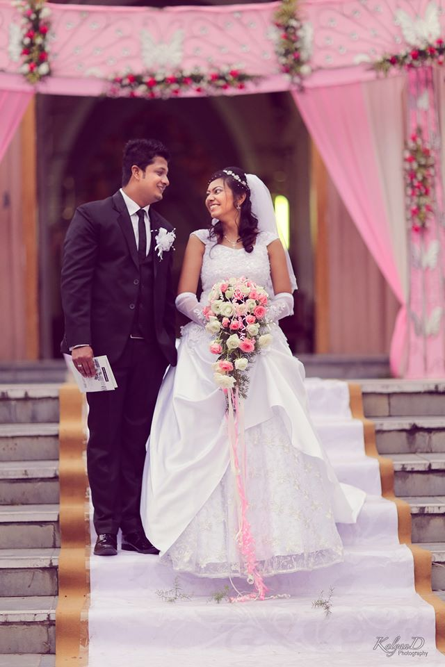 A charismatic christian bride wearing a white gown! by KalyanD Photography Wedding-photography   Weddings Photos & Ideas