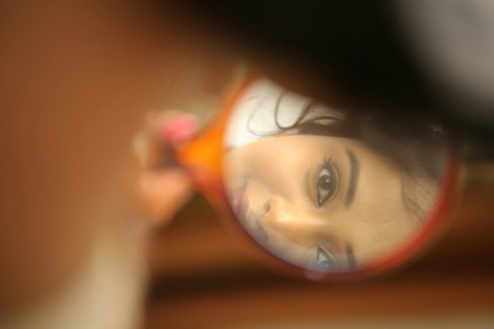 A beautiful reflection of the bride! by KalyanD Photography Wedding-photography | Weddings Photos & Ideas