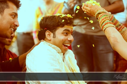 A groom excited for a ceremony! by KalyanD Photography Wedding-photography | Weddings Photos & Ideas