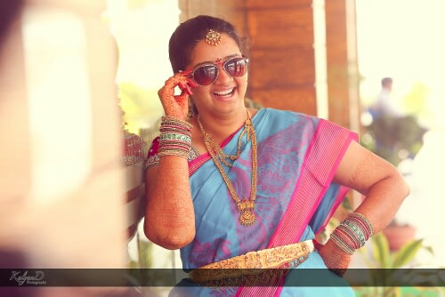 A quirky bride! by KalyanD Photography Wedding-photography | Weddings Photos & Ideas