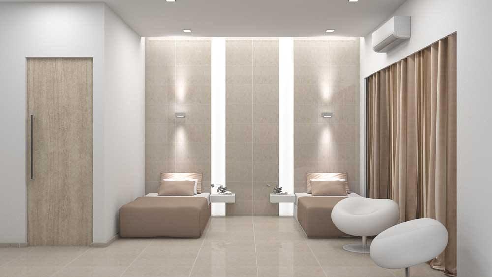 Modern guest room by De Panache Interior Architecture  Bedroom Modern | Interior Design Photos & Ideas