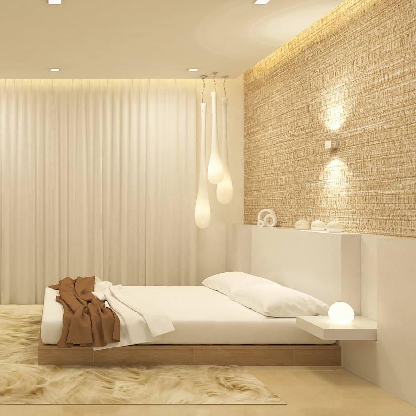 Modern Master bedroom by De Panache Interior Architecture  Bedroom Modern | Interior Design Photos & Ideas