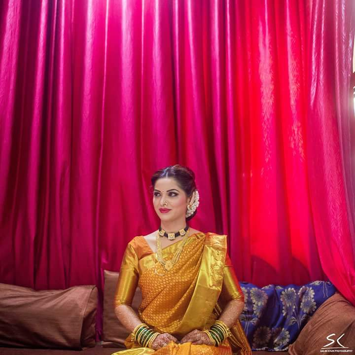 The golden bride! by Sagar Makwana Wedding-photography | Weddings Photos & Ideas