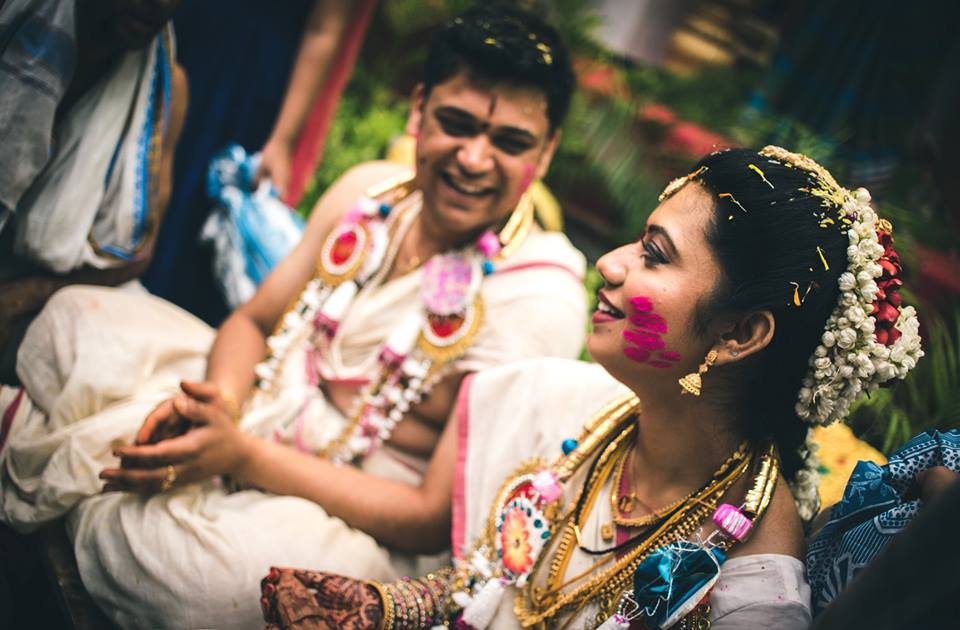 Happiest smiles! by Abhishek Sarkar Wedding-photography Bridal-jewellery-and-accessories | Weddings Photos & Ideas