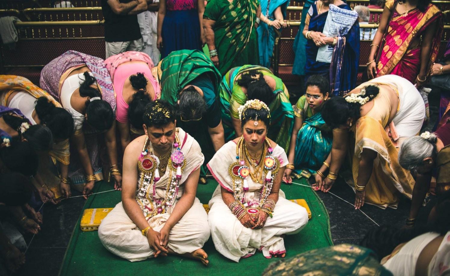 In the gods prayers! by Abhishek Sarkar Wedding-photography | Weddings Photos & Ideas