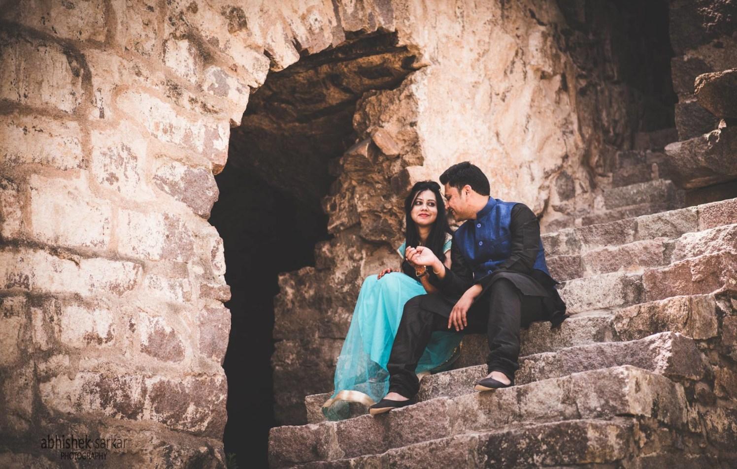 Stunning Pre Wedding Shoot by Abhishek Sarkar Wedding-photography | Weddings Photos & Ideas