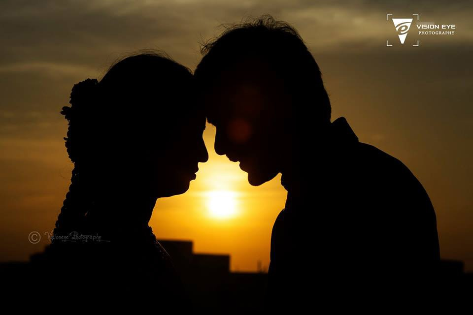 Silhouette Pre-Wedding Shoot by Srikanth Reddy Basadi Wedding-photography | Weddings Photos & Ideas
