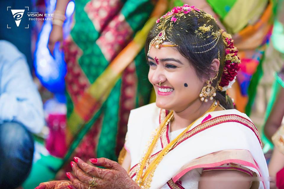 Happy Bride Shot by Srikanth Reddy Basadi Wedding-photography | Weddings Photos & Ideas