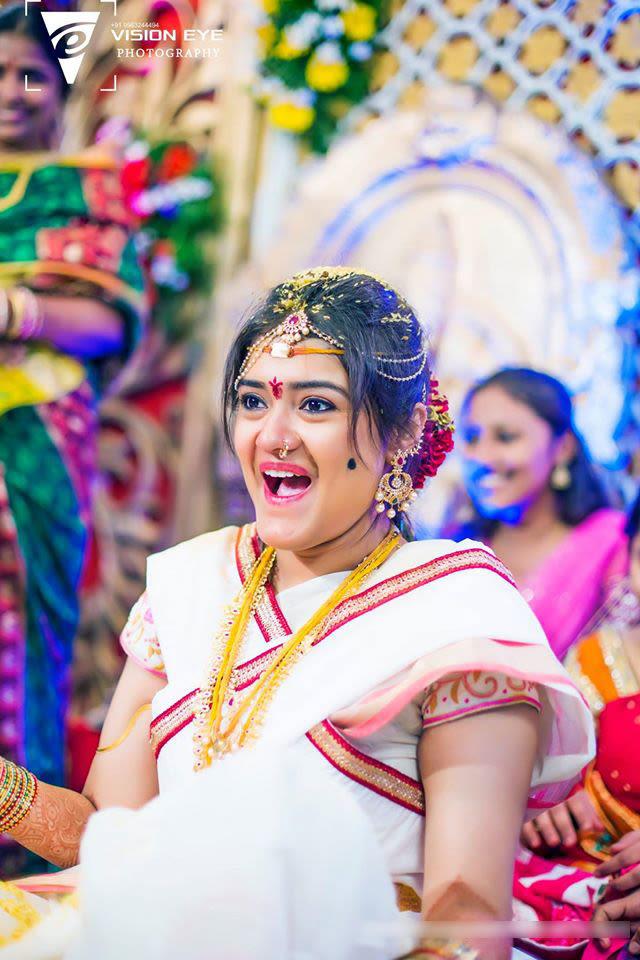Candid Bride Shot by Srikanth Reddy Basadi Wedding-photography | Weddings Photos & Ideas