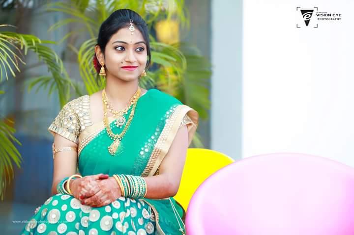 Bride Portrait Shot by Srikanth Reddy Basadi Wedding-photography | Weddings Photos & Ideas