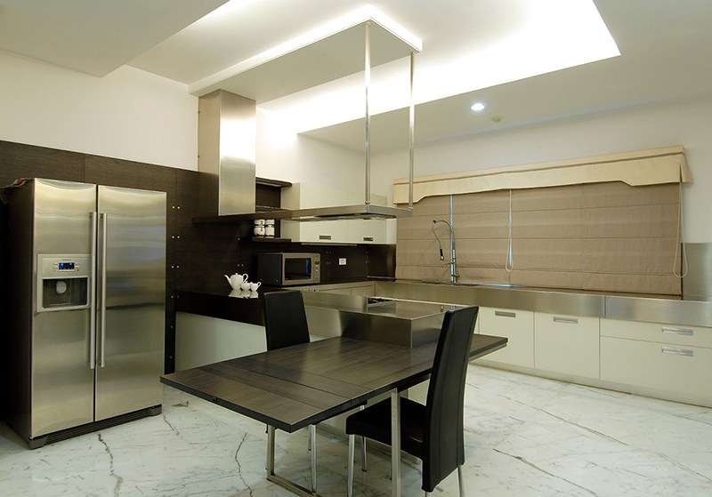 A Creamy Landscape by Riyazandswamy Contemporary | Interior Design Photos & Ideas