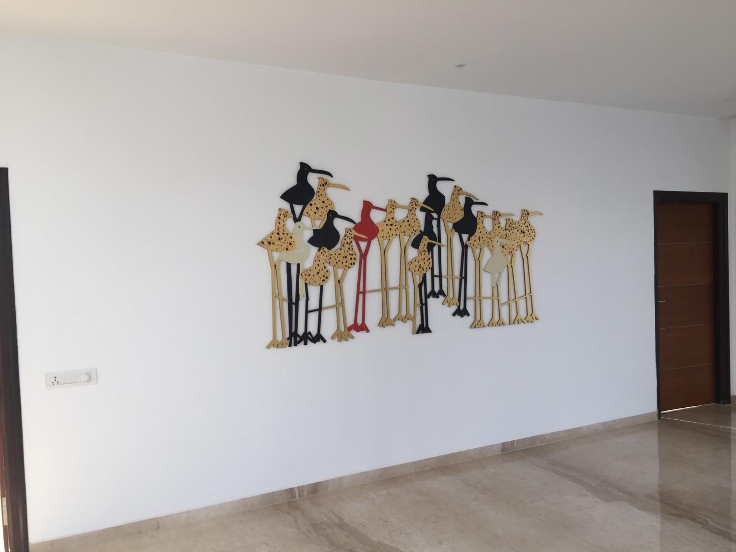 Whimsical Wall by Riyazandswamy