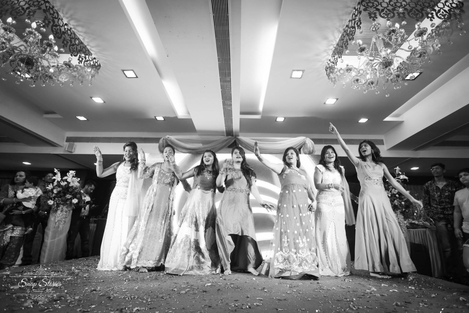 Dancing beauties !! by sandip kotia Photography Wedding-photography | Weddings Photos & Ideas