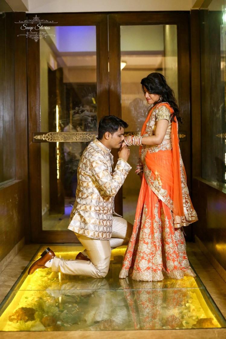 Stunning Couple by sandip kotia Photography Wedding-photography Wedding-dresses | Weddings Photos & Ideas