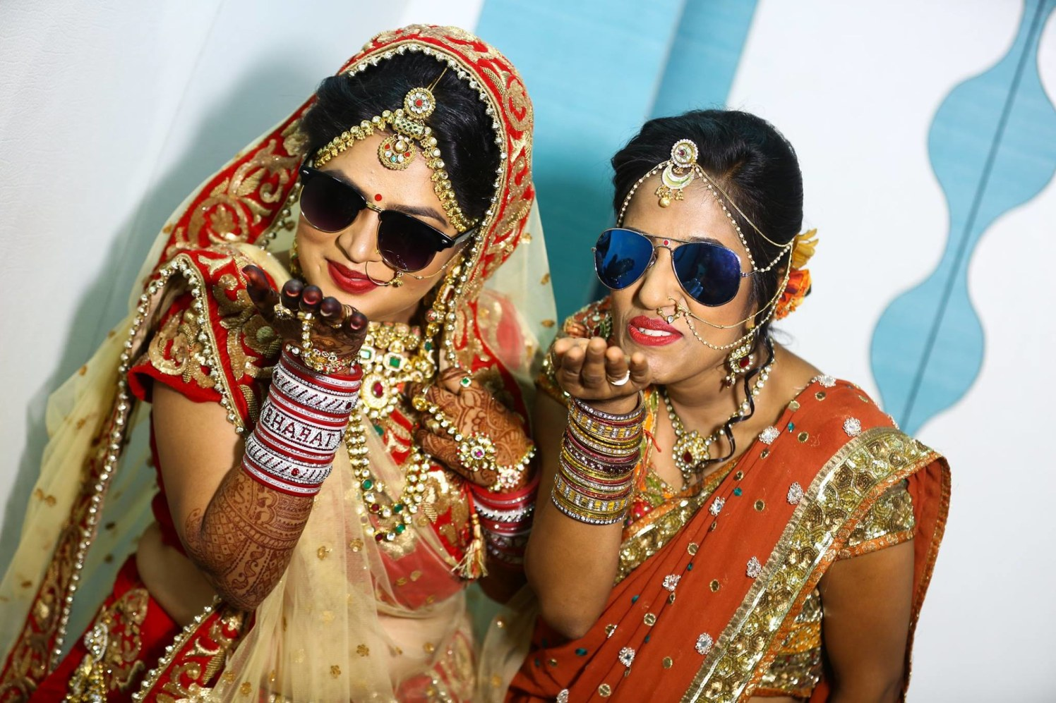 Bride goes swaggy! by sandip kotia Photography Wedding-photography Bridal-makeup Bridal-jewellery-and-accessories | Weddings Photos & Ideas