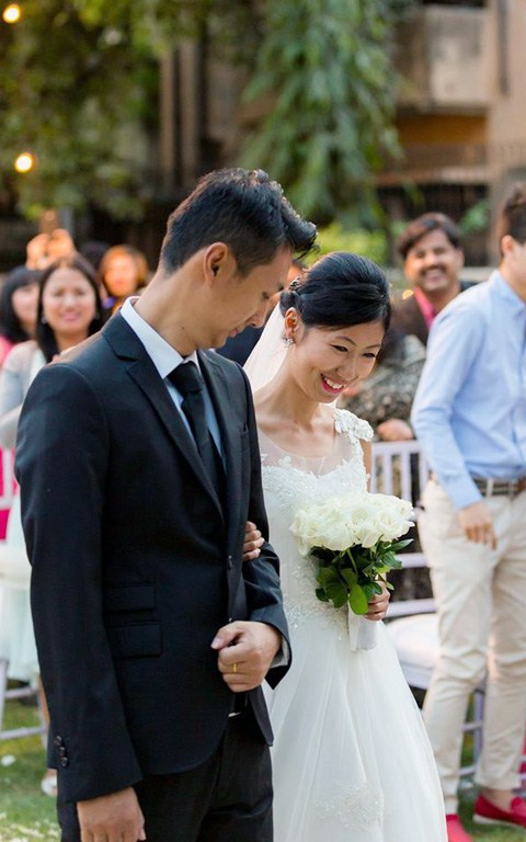 Simple Christian Bride by Nazzare Photography  Wedding-photography Bridal-makeup   Weddings Photos & Ideas