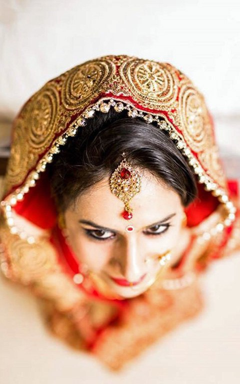 A Stunning Bridal Shot by Nazzare Photography  Wedding-photography Bridal-jewellery-and-accessories | Weddings Photos & Ideas