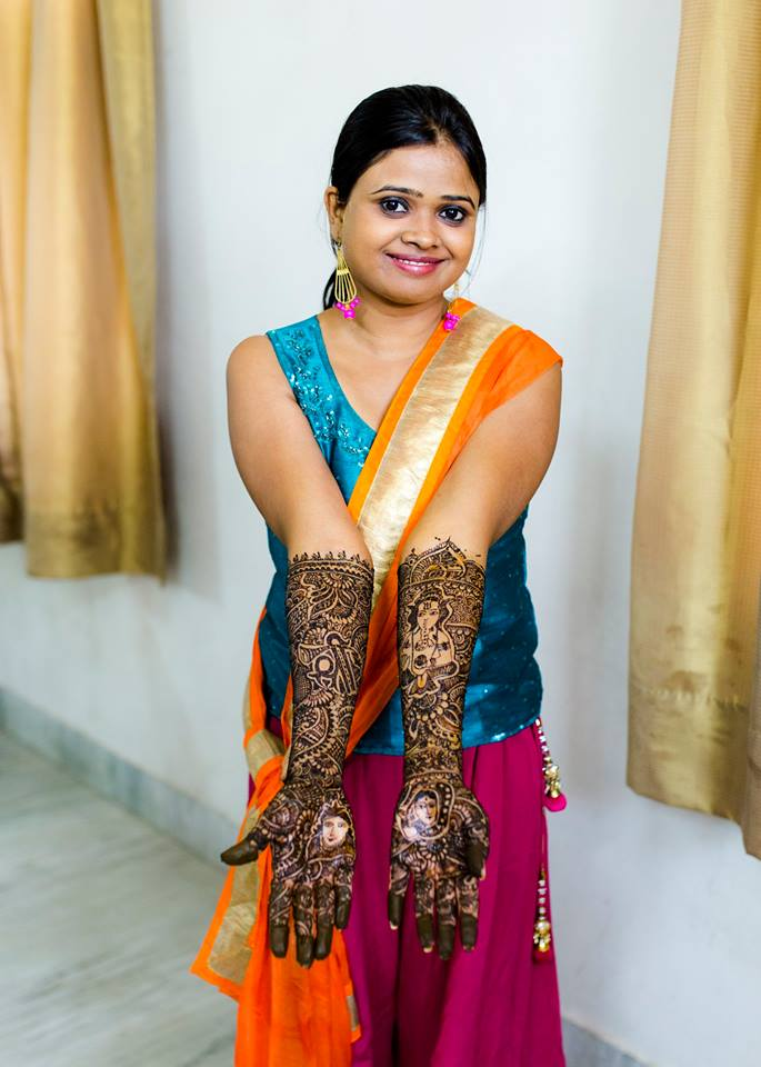Stunning Mehendi Design by Nazzare Photography  Wedding-photography | Weddings Photos & Ideas