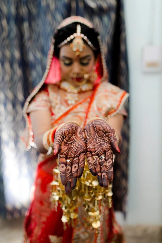 Stunning Bridal Mehendi by Nazzare Photography  Wedding-photography | Weddings Photos & Ideas