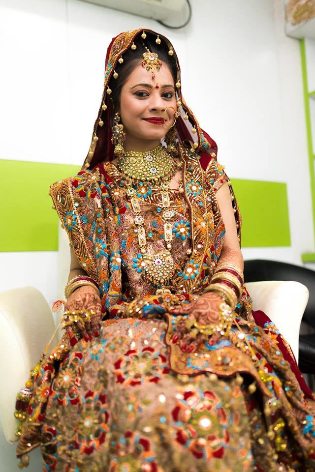 Stunning Bridal Portrait by Nazzare Photography  Wedding-photography Bridal-jewellery-and-accessories Bridal-makeup | Weddings Photos & Ideas