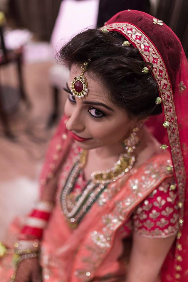 A Stunning Bridal  Maangtikka by Nazzare Photography  Wedding-photography Bridal-jewellery-and-accessories Bridal-makeup | Weddings Photos & Ideas