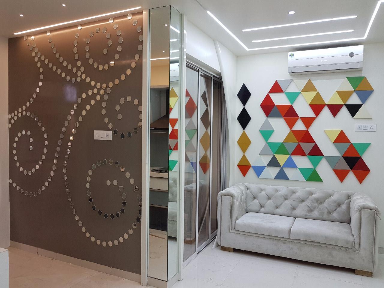 Contemporary Display Unit by Alaya D'decor  Living-room Contemporary | Interior Design Photos & Ideas