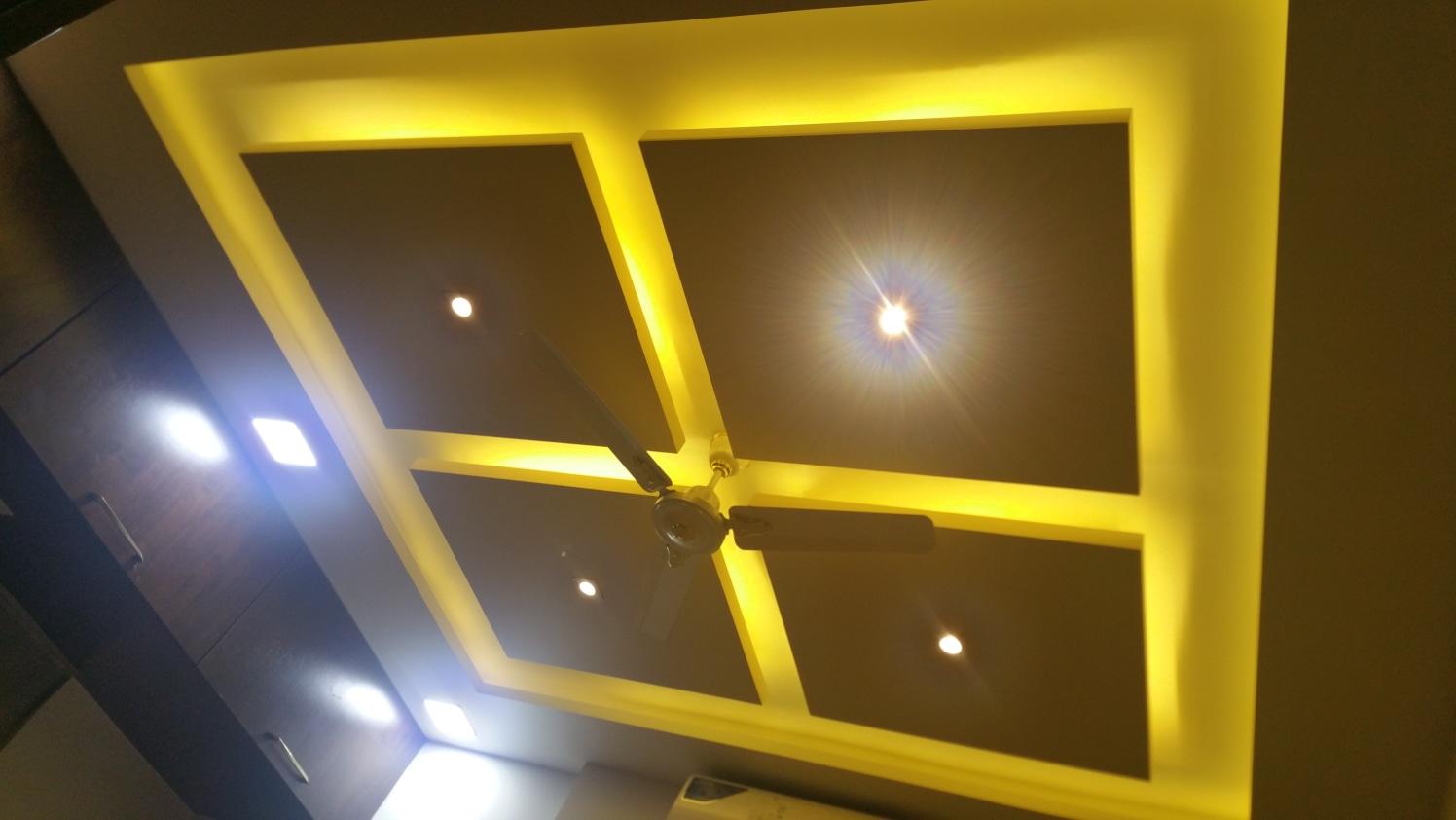 Spot-light by Alaya D'decor  Living-room Modern | Interior Design Photos & Ideas