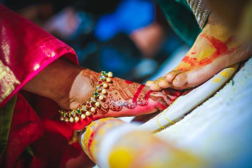 The Auspicious Step by Samuel Rasoori Photography Wedding-photography | Weddings Photos & Ideas
