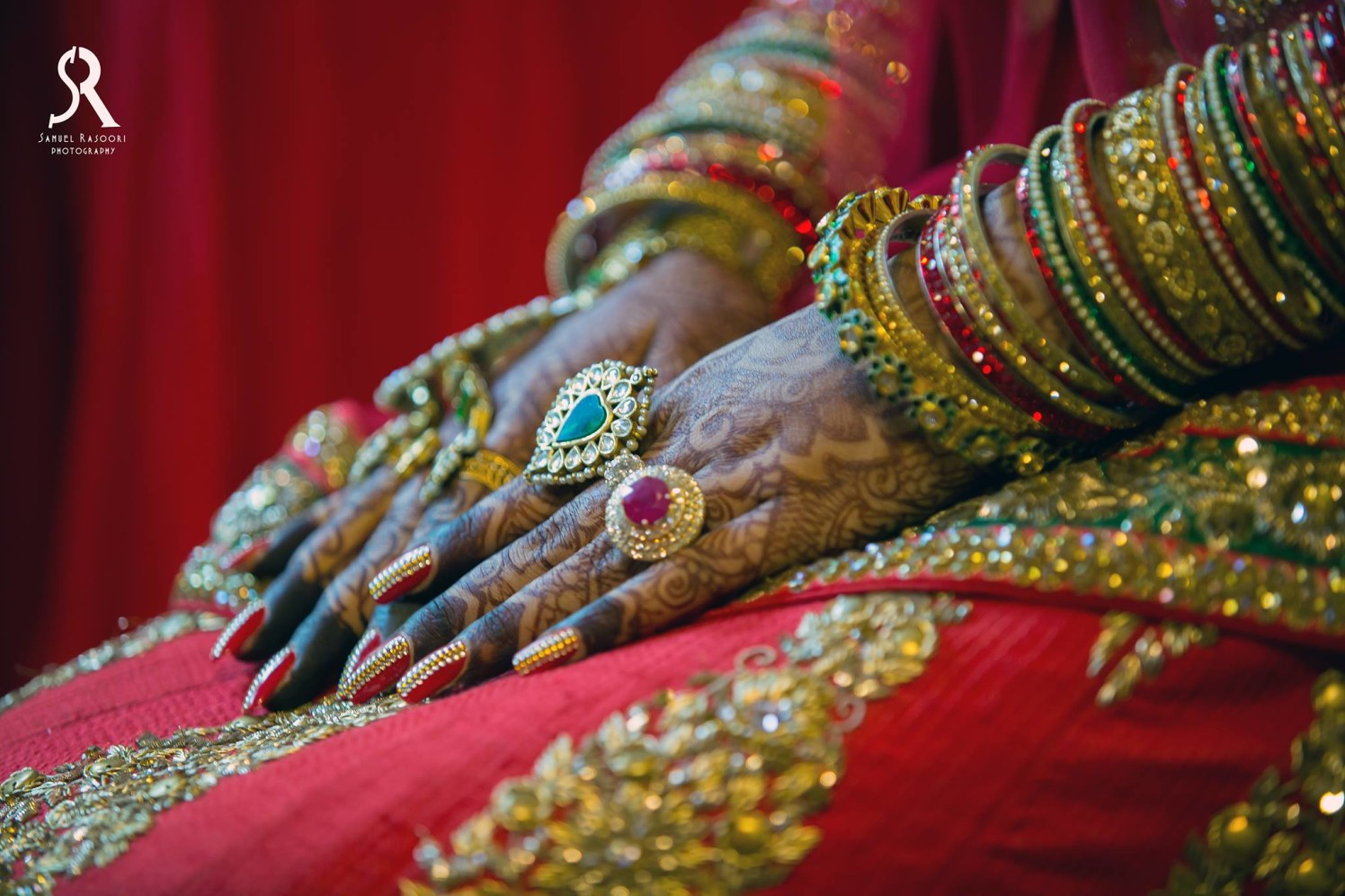 The Enamoured Bride by Samuel Rasoori Photography Wedding-photography Bridal-mehendi | Weddings Photos & Ideas