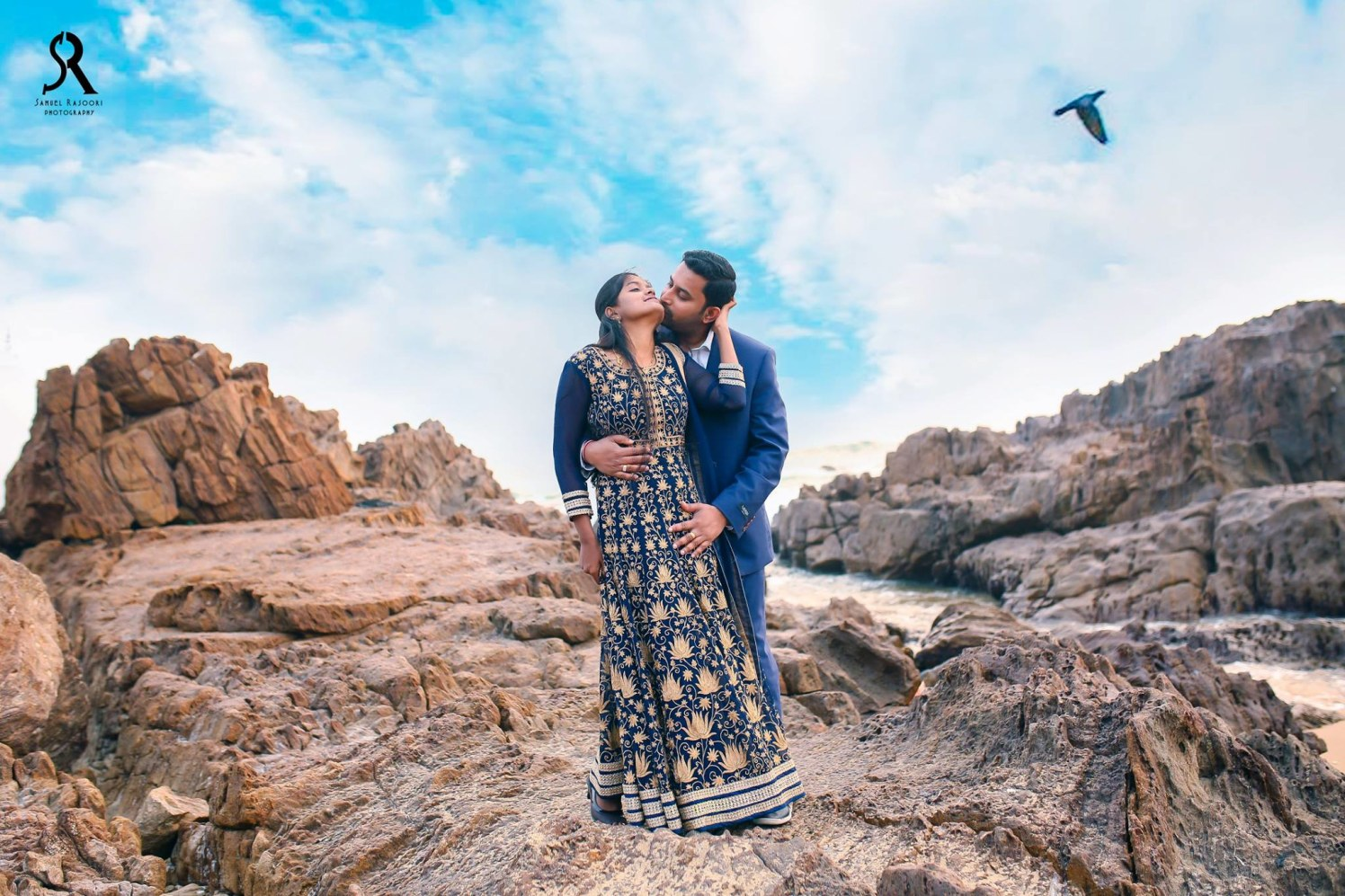 Romancing on the Rocks by Samuel Rasoori Photography Wedding-photography | Weddings Photos & Ideas
