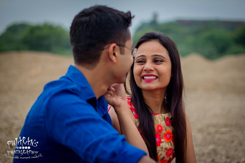 A Stunning Pre Wedding Shoot by Pujarans Photography Wedding-photography | Weddings Photos & Ideas