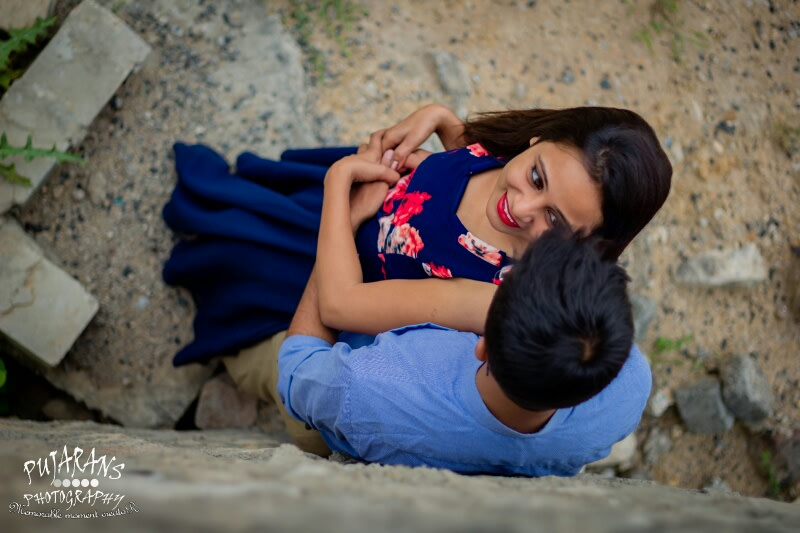 Couple Portrait by Pujarans Photography Wedding-photography | Weddings Photos & Ideas