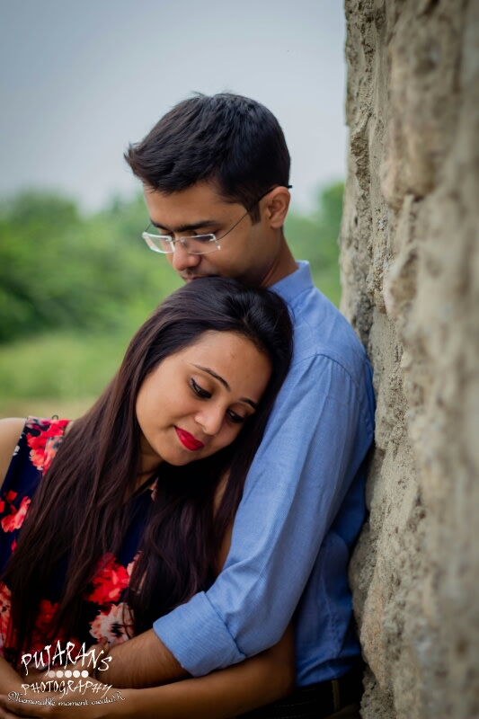 A Glowing Couple by Pujarans Photography Wedding-photography | Weddings Photos & Ideas