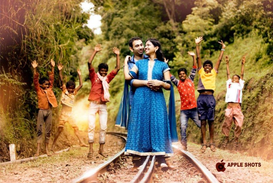 Celebrating Love on the Railway Tracks by Abdul Aneez Wedding-photography   Weddings Photos & Ideas