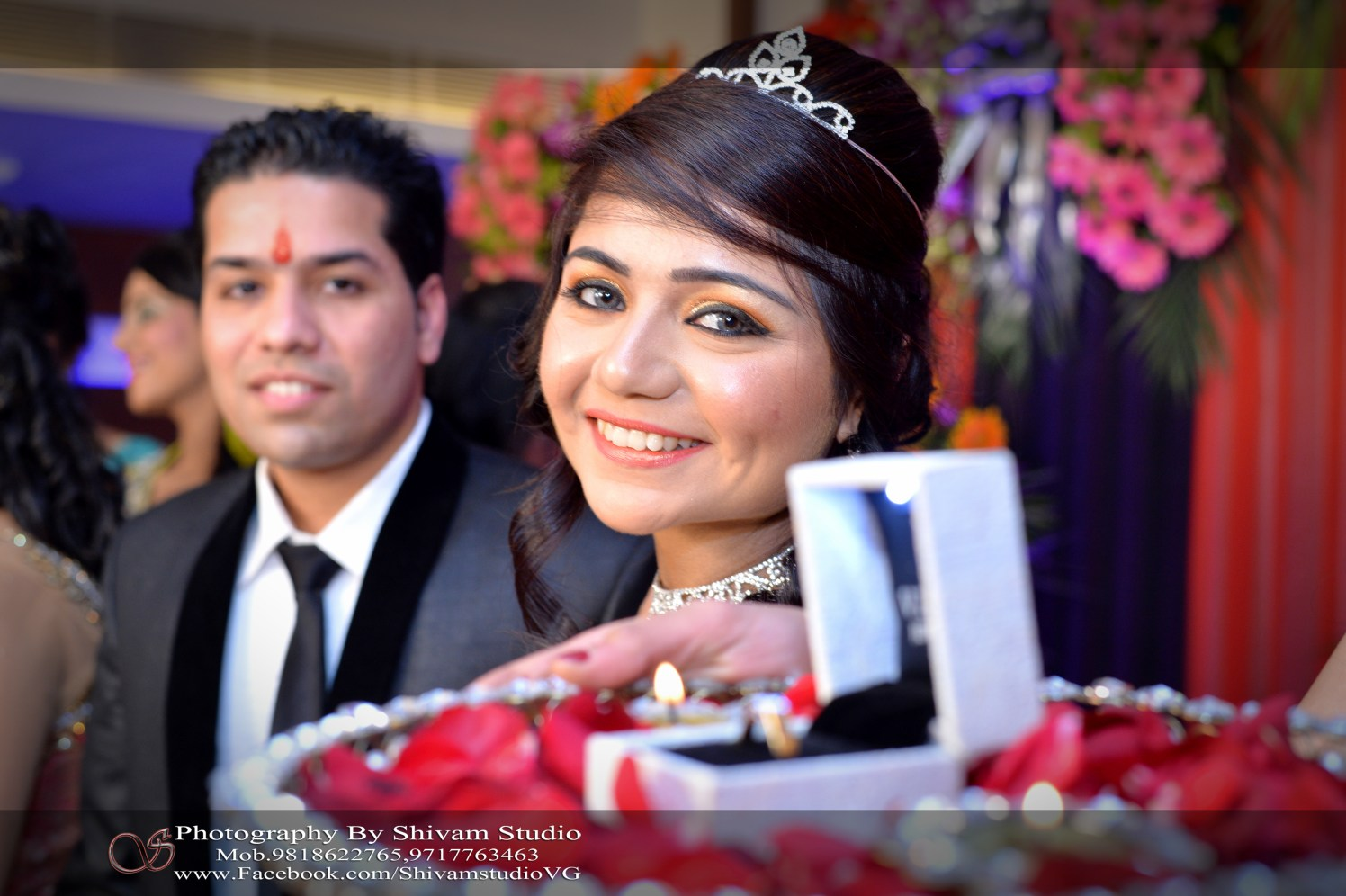 A Stunning Bridal Portrait by Shivam Studio Wedding-photography Bridal-jewellery-and-accessories Bridal-makeup | Weddings Photos & Ideas