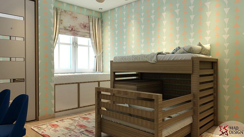 Modern Kids Bedroom Decor by Mad Design Bedroom Modern | Interior Design Photos & Ideas