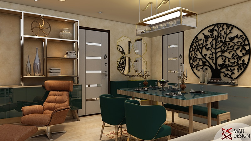 Contemporary Dining Room by Mad Design Dining-room Contemporary | Interior Design Photos & Ideas
